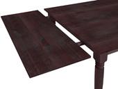 2 Stück Tischerweiterungsplatten NIKOLAI Kiefer in havana