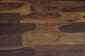 Moderner Couchtisch RAIN aus Mangoholz in braun