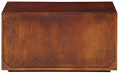 Couchtisch DIEMEND aus Mangoholz mit 3D-Optik, 90 cm breit