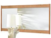 Spiegel SATO 65x120 cm aus Kiefer in eichefarbe gekälkt