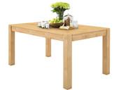Tisch MONIQUE 140x90 cm aus Kiefer massiv in gebeizt geölt