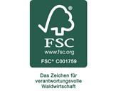 2-trg. Schrank JANE aus FSC®-Holz in espresso