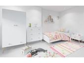 Nachtkommode GIGI im skandinavischen Design, weiß