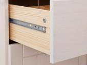Sideboard PASHA 4 Türen Kiefer massiv in weiß