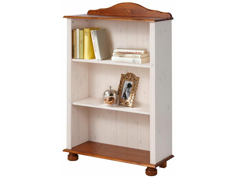 b cherregal landhausstil annette klein kiefer in wei honig. Black Bedroom Furniture Sets. Home Design Ideas