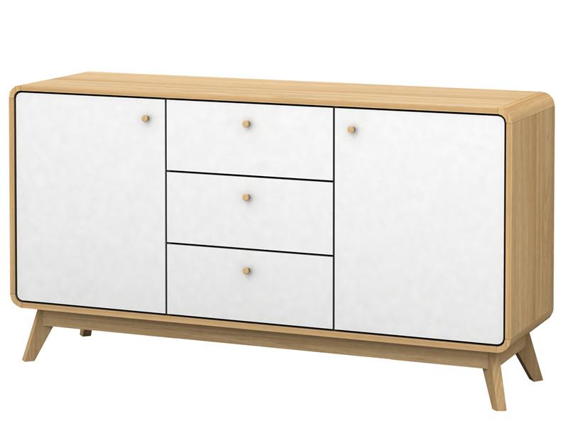 sideboard fsc holz in wei kostenlose lieferung g nstiger preis. Black Bedroom Furniture Sets. Home Design Ideas