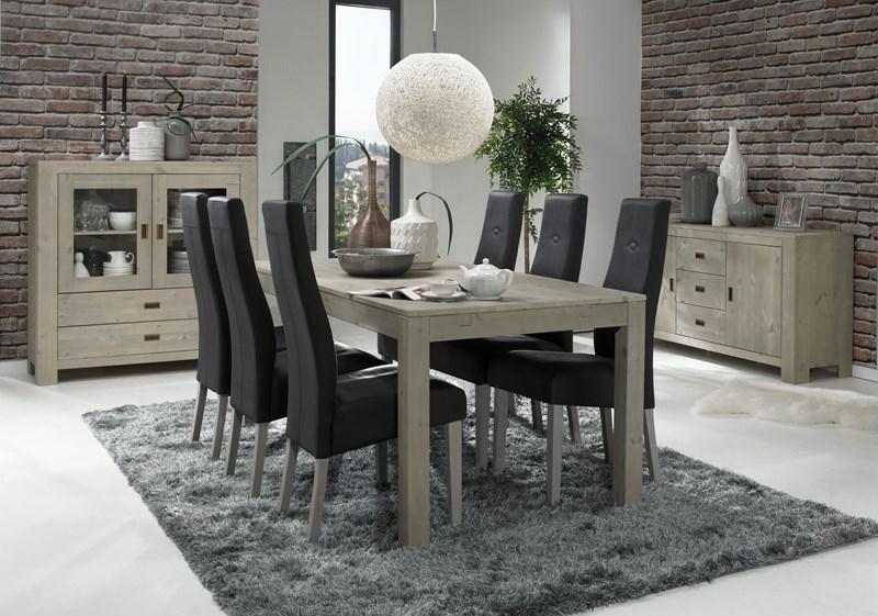 2er set st hle mantoni aus amarillo leder in schwarz. Black Bedroom Furniture Sets. Home Design Ideas