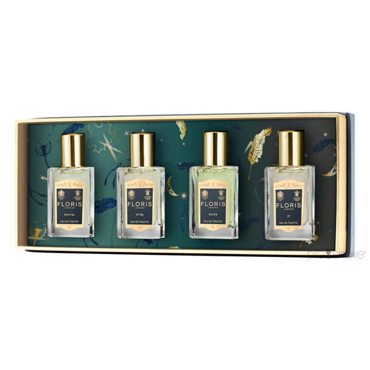 Floris Fragrance Travel Collection For Him, 4 x 14 ml.