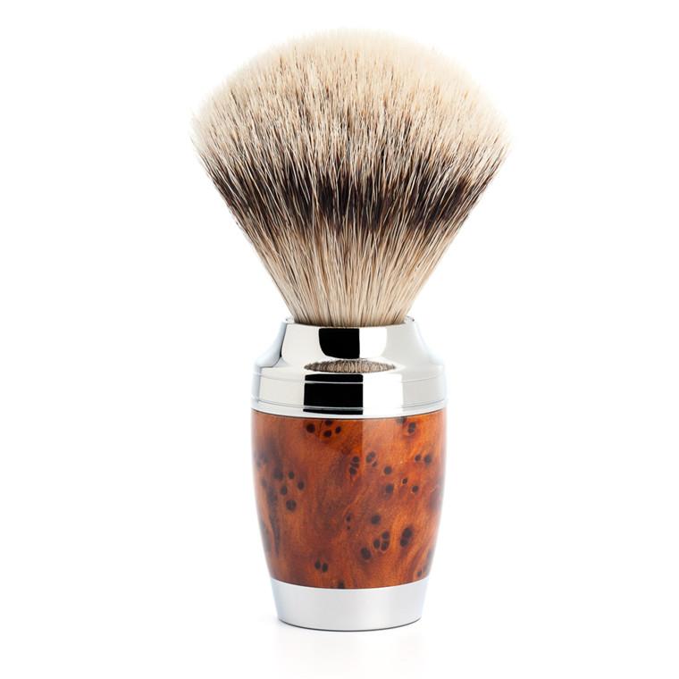 Mühle Silvertip Barberkost, 21 mm, Stylo, Thuja Wood