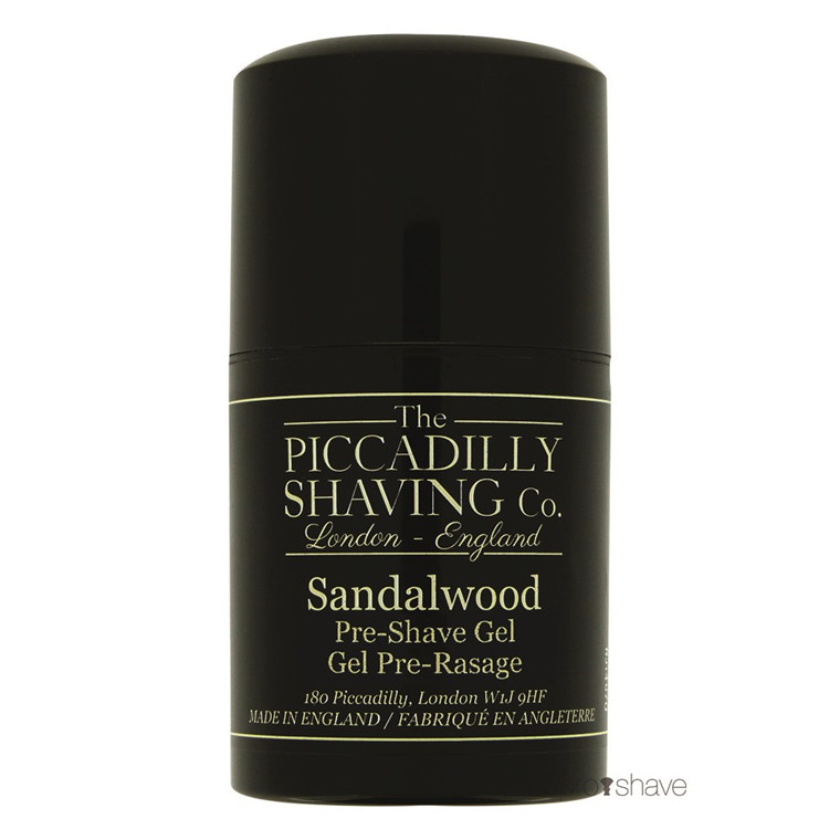 Piccadilly Shaving Sandeltræ Preshave Gel, 50 ml.