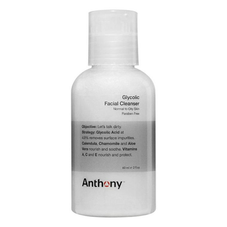 Anthony Glycolic Facial Cleanser, 60 ml.