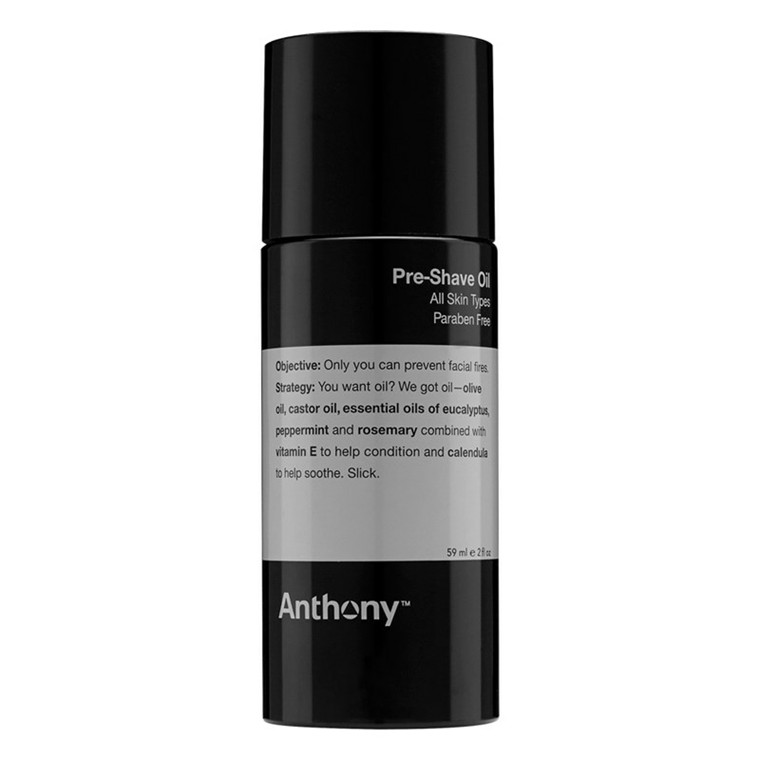 Anthony Pre Shave Oil, 59 ml.