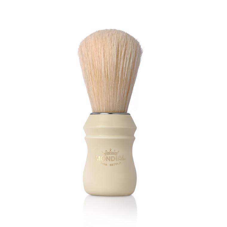 Mondial Boar Barberkost, Hvid plast