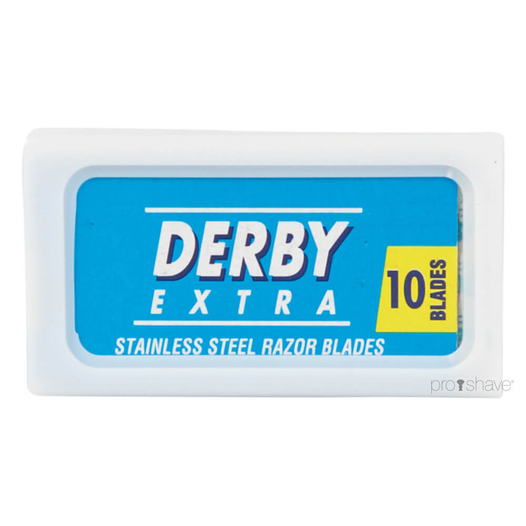 Derby Extra Blu, DE-Barberblade, 10 stk.