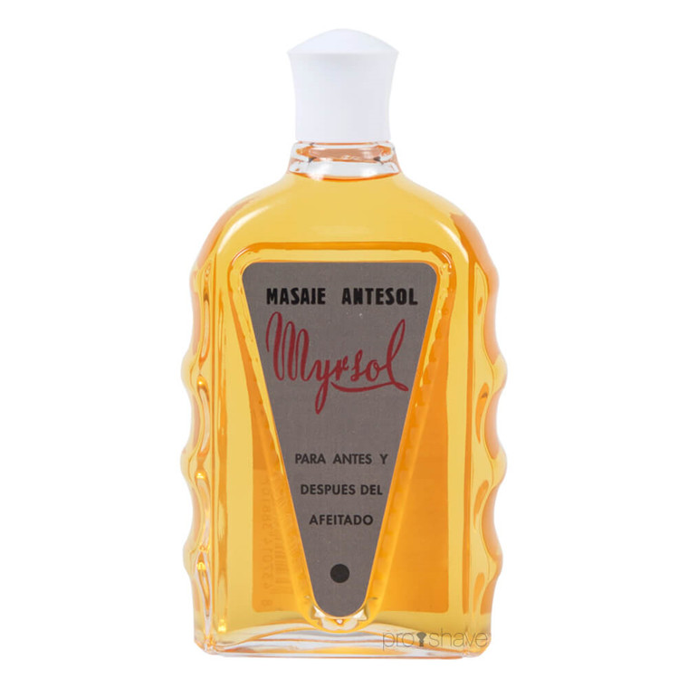 Myrsol Preshave & Aftershave Lotion, Masaje Antesol, 180 ml.