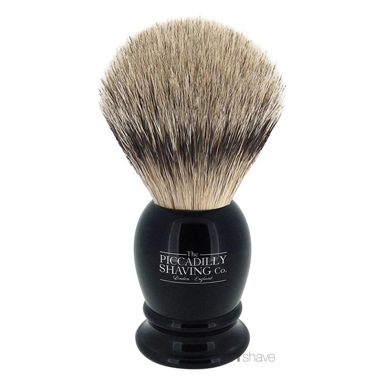 Piccadilly Shaving Super Badger Barberkost, Lille, Sort