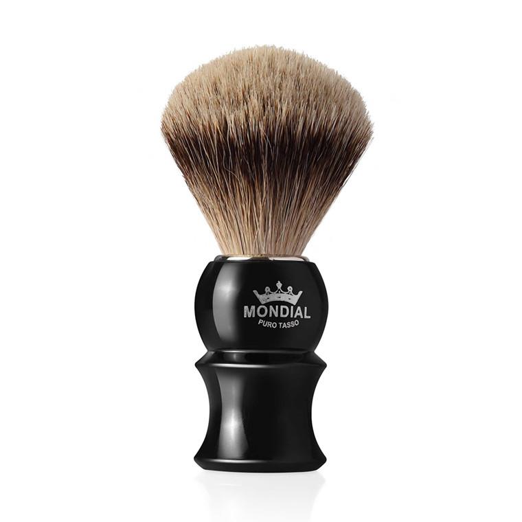 Mondial Super Badger Barberkost, James, Sort