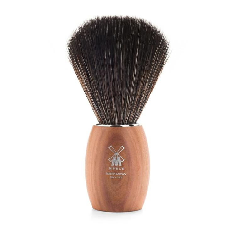 Mühle Black Fibre Barberkost, 21 mm, Lav, Blommetræ