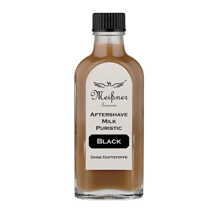 Meißner Tremonia Puristic Black Aftershave Milk, 100 ml.