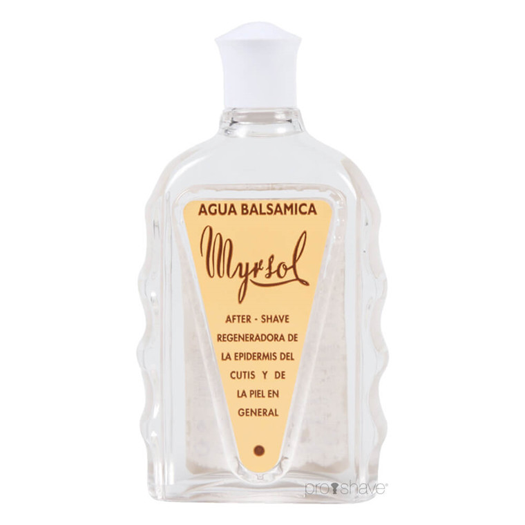 Myrsol Aftershave Lotion, Agua Balsamica, 180 ml.