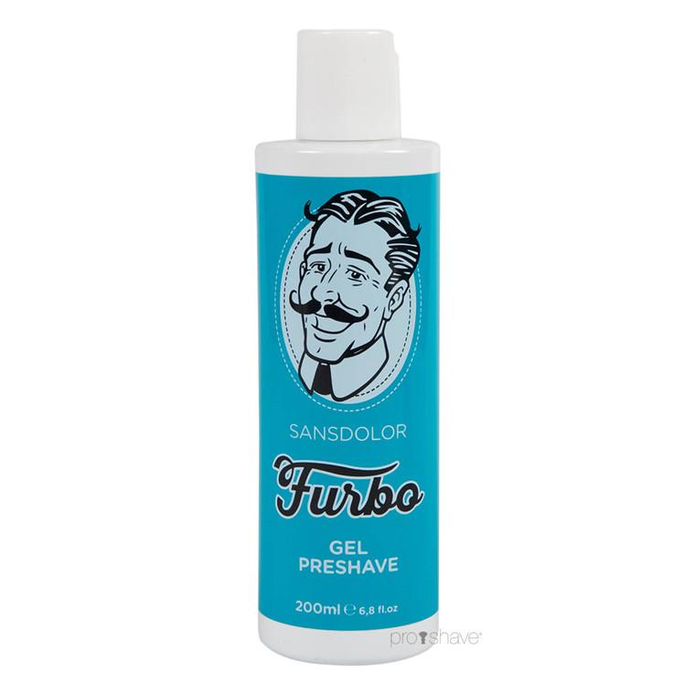 Furbo Preshave gel, Sansdolor, 200 ml.