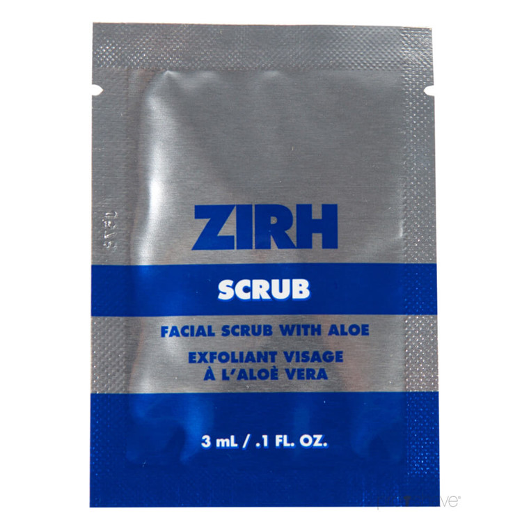 ZIRH Scrub Sample Packette, 3 ml.