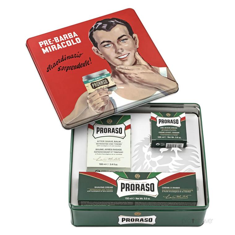 Proraso Gaveæske, Vintage Selection Gino, Refresh