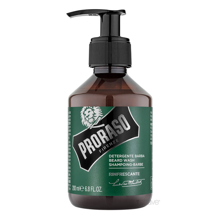 Proraso Skægshampoo, Refreshing, 200 ml.