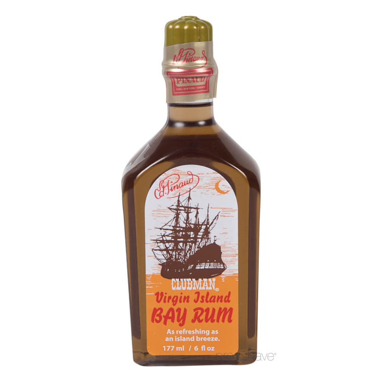 Pinaud Clubman Virgin Island Bay Rum, 177 ml.