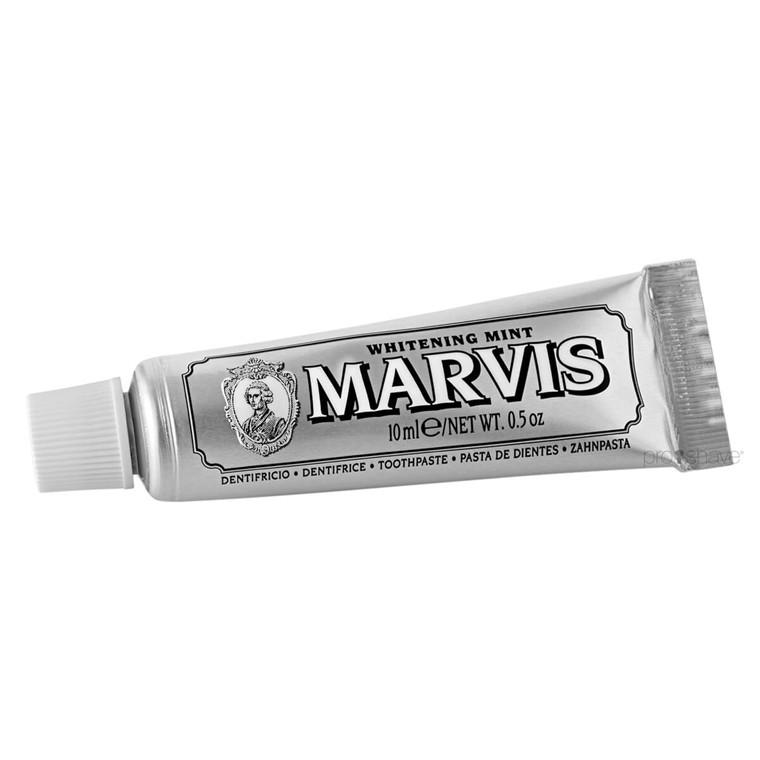 Marvis Whitening Mint Tandpasta, Rejsestørrelse, 10 ml.