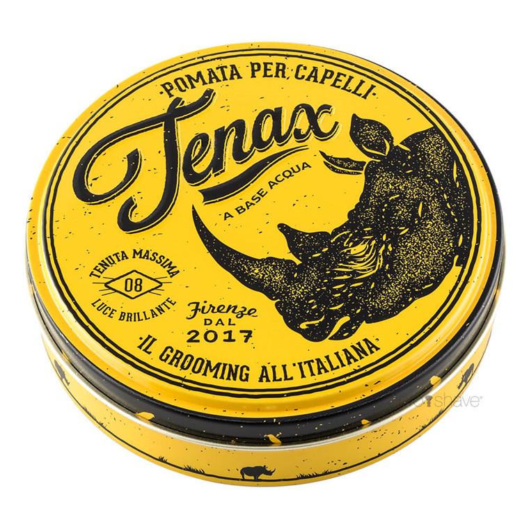Tenax Hår Pomade, Strong Hold, Gul, 125 ml.