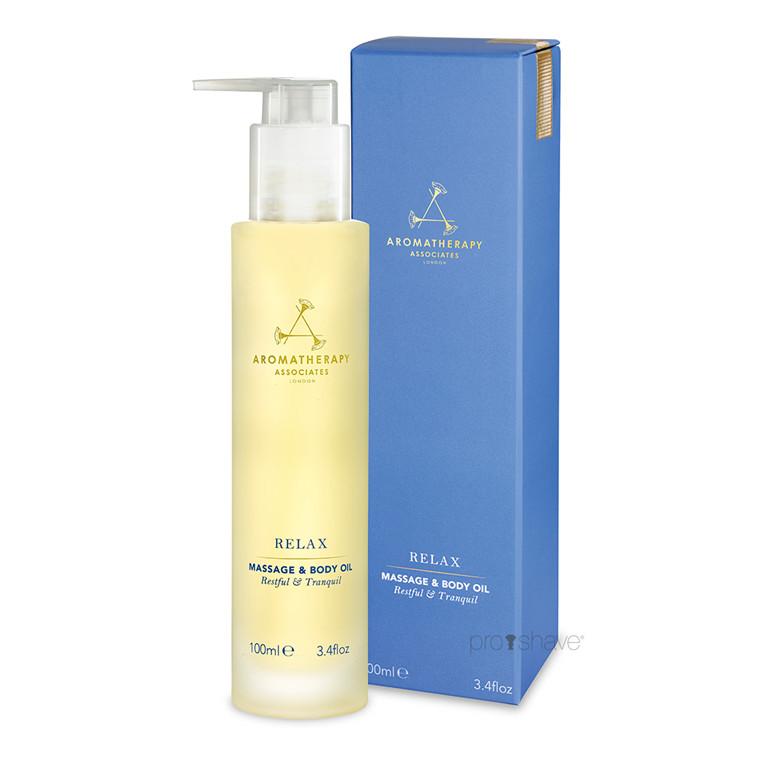 Aromatherapy Associates Relax Body Oil, 100 ml.