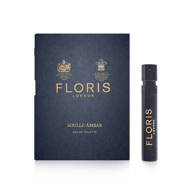 Floris Soulle Ámbar, Eau de Toilette, DUFTPRØVE, 1.2 ml.