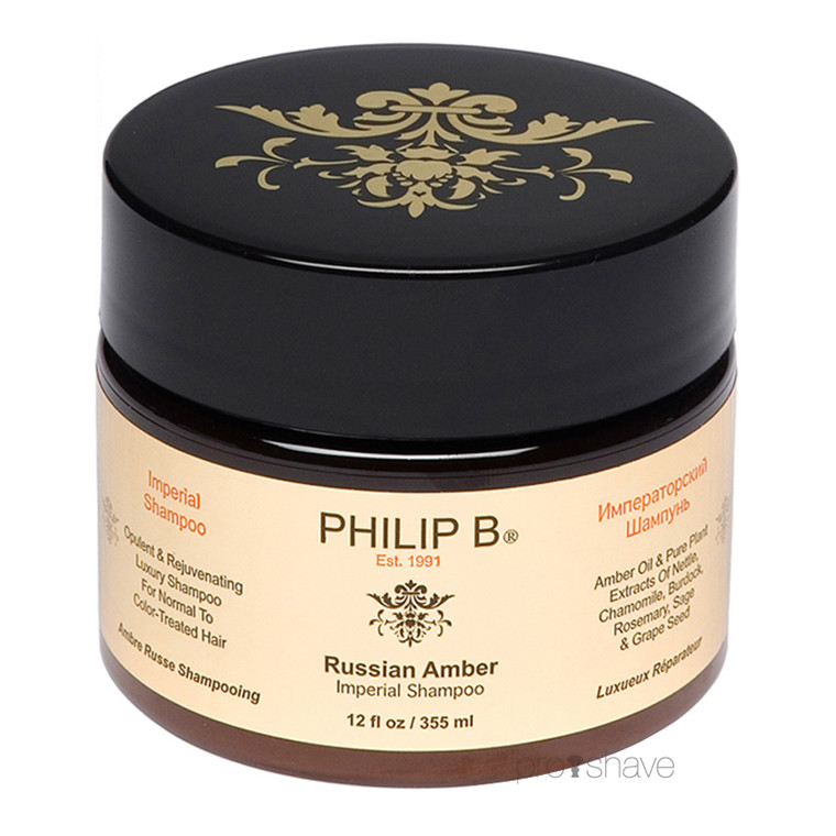 Philip B Russian Amber Imperial Shampoo, 355 ml.