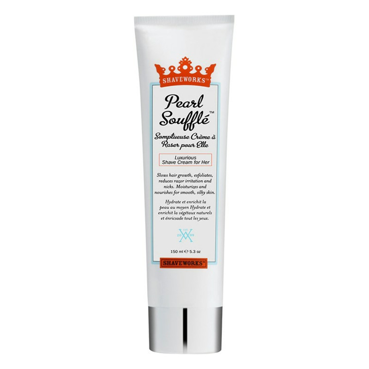 Shaveworks Pearl Soufflé Shave Cream, 156 ml.