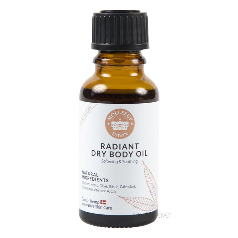 Møllerup Radiant Dry Body Oil Sample, 20 ml.