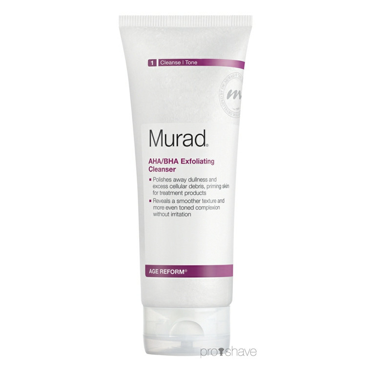 Murad AHA/BHA Exfoliating Cleanser, 200 ml.