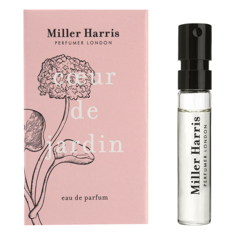 Miller Harris Coeur de Jardin Eau de Parfum, DUFTPRØVE, 2 ml.