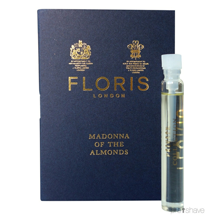 Floris Madonna of the Almonds, Eau de Toilette, DUFTPRØVE, 2 ml.