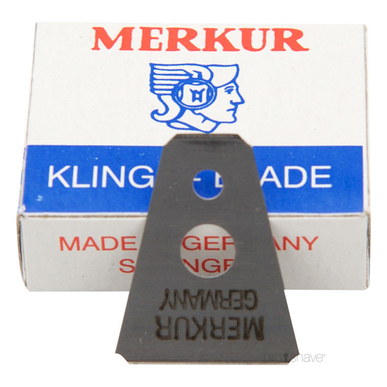 Merkur Blade til Skraber til bryn og skæg, 10 stk.