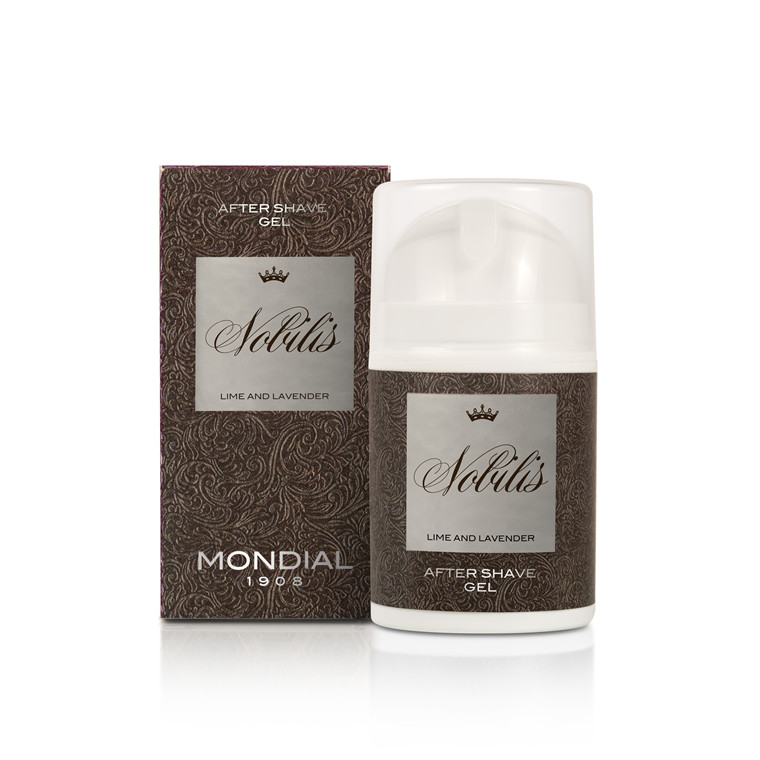 Mondial Nobilis After Shave Gel, 50 ml.