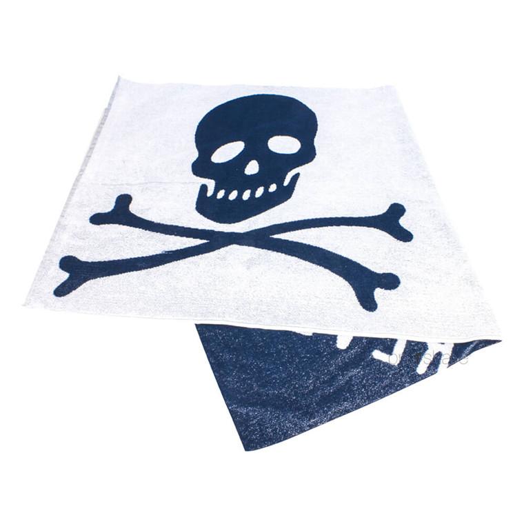 Bluebeards Revenge Håndklæde, Bomuld, 70x140 cm.
