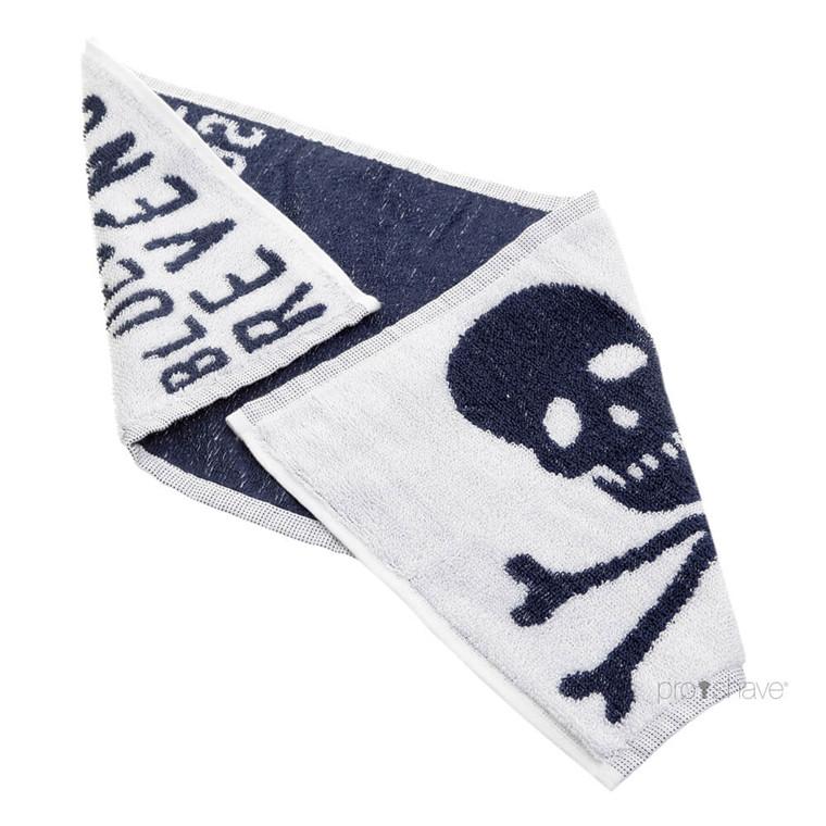 Bluebeards Revenge Barberhåndklæde, Bomuld, 50x25 cm.