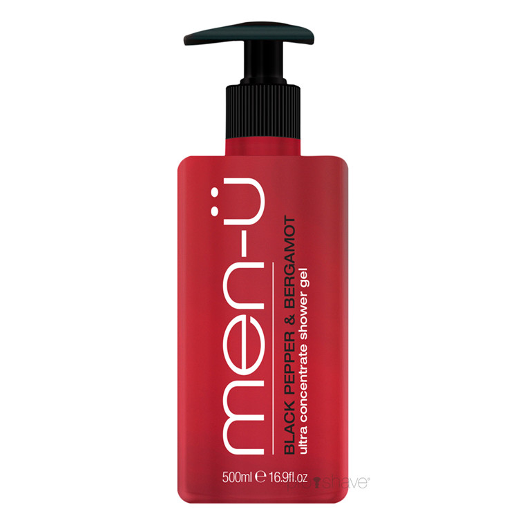 men-ü Black Pepper & Bergamot Shower Gel, 500 ml.