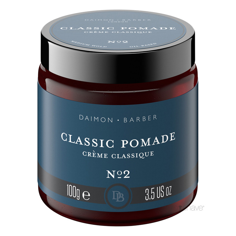 Daimon Barber Classic Pomade, No. 2, 100 gr.
