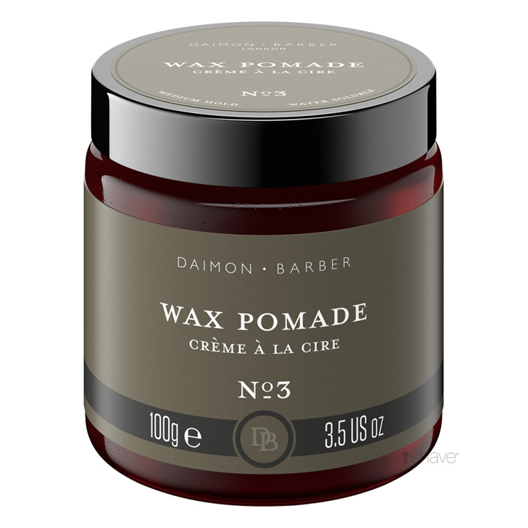 Daimon Barber Wax Pomade, No. 3, 100 gr.