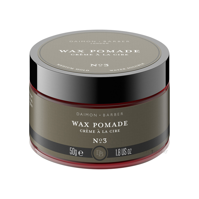 Daimon Barber Wax Pomade, No. 3, 50 gr.
