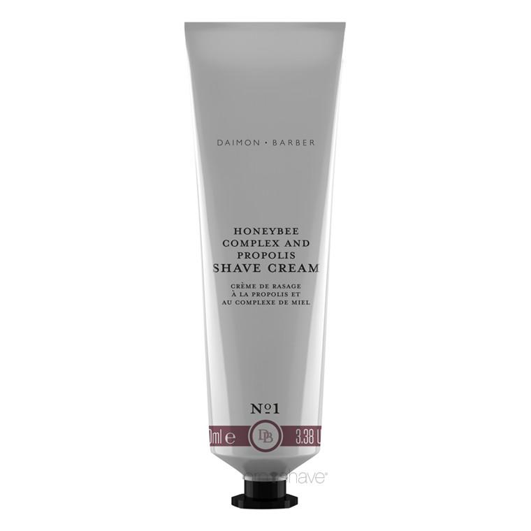 Daimon Barber Honeybee Complex & Propolis Shave Cream, 100 ml.