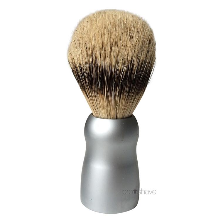 Dovo Barberkost, Mat Alu, Silver Tip Badger