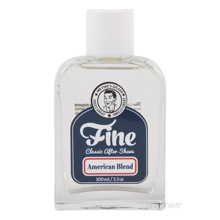 Fine American Blend Classic Aftershave, 100 ml.